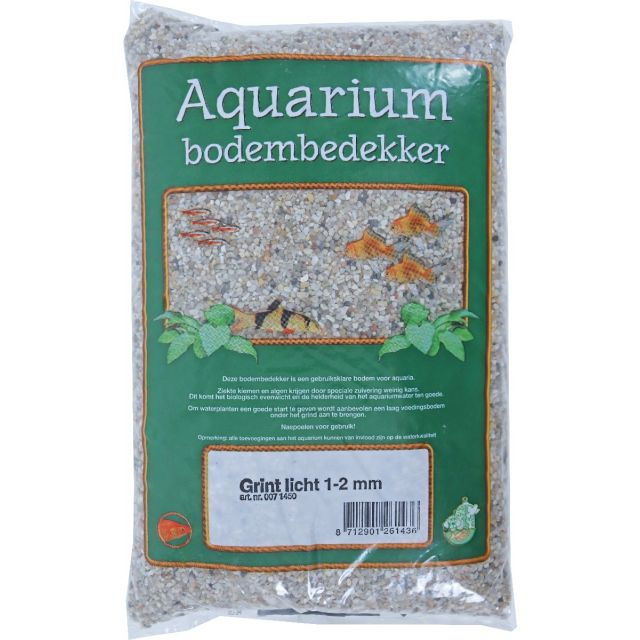 Aquarium Grind Licht 1-2 mm -2.5 kg