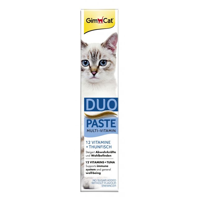 Gimcat Multi-Vitamine  + Tonijn Pasta  -50 gram