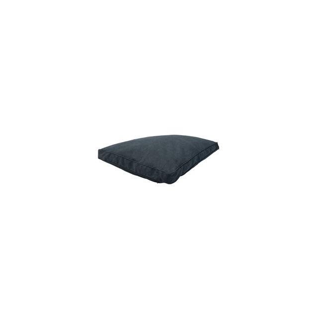WoefWoef Hondenkussen Lounge Canvas Luxe Grijs -100x70x10 cm  OP=OP