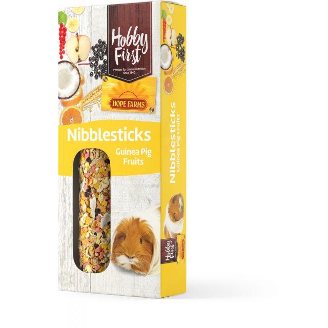 HobbFirst Hope Farms Nibble Sticks Guinea Pig Fruits -2x90 gram