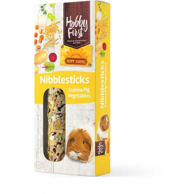 HobbyFirst Hope Farms Nibble Sticks Guinea Pig Vegetables -2x90 gram