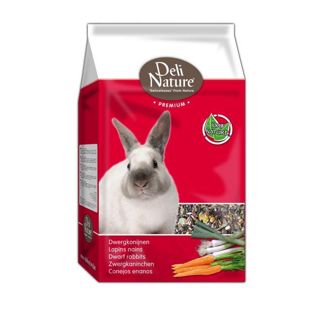 Deli Nature Premium Dwergkonijn - 3 kg