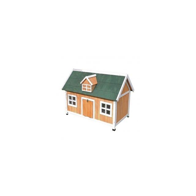 Woodland Kippen/Konijnenhok Combi -115x68x86cm