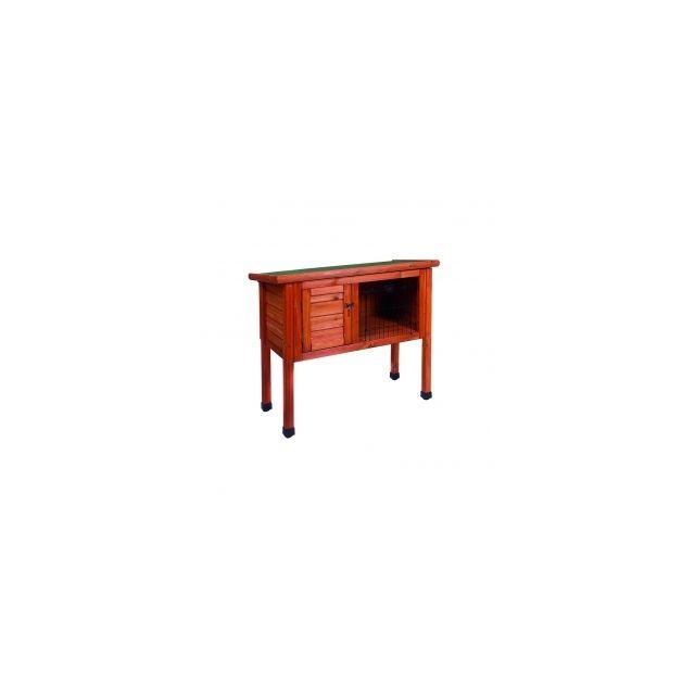 Woodland Konijnenhok Classic 1 Bruin -80x40x73cm