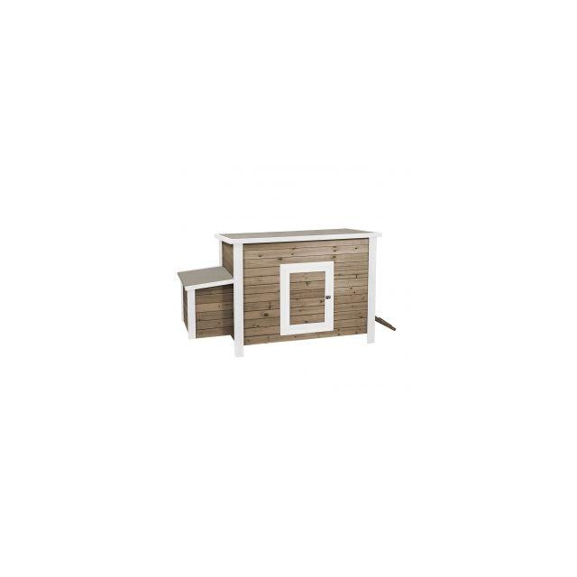 Woodland Kippenhok Life Time 2 Cottage- 130x65x82cm