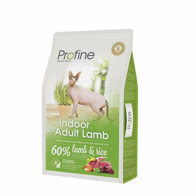 Profine Indoor Adult Lam  Met 60% Lam & Rijst - 10 kg