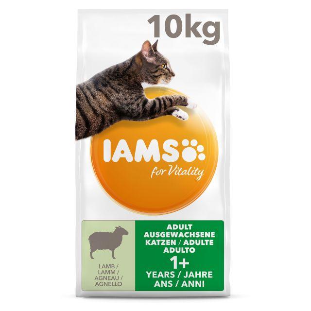 Iams Cat Adult Lam - 10 kg