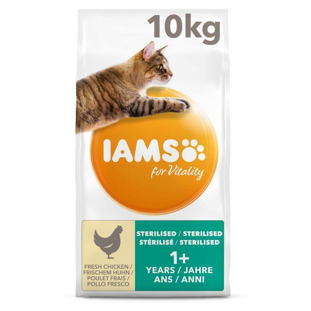 Iams Cat Sterillised & Overweight - 10 kg