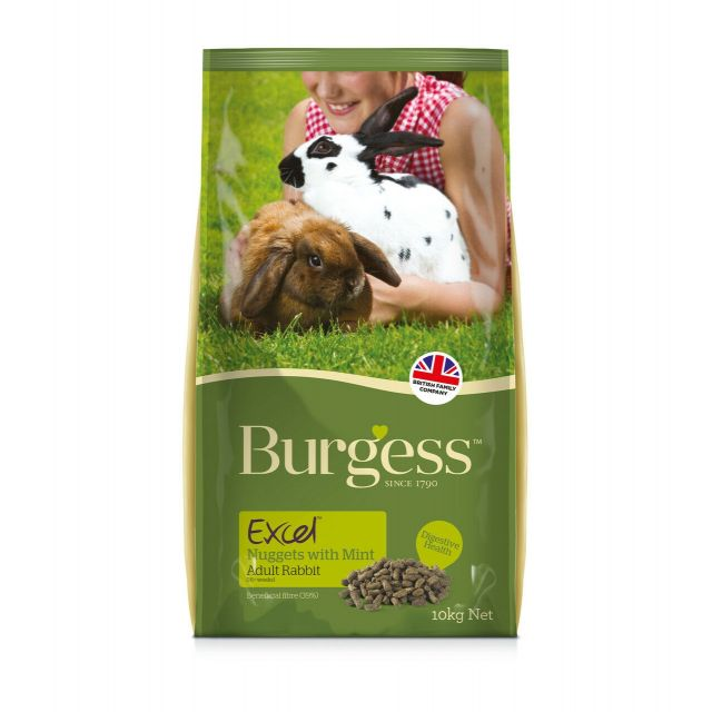 Burgess Excel Rabbit Adult Konijnenvoer - 10 kg