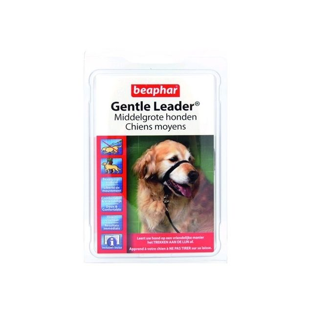 Beaphar Gentle Leader Black - Medium