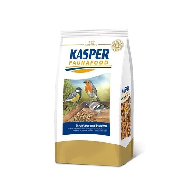 Kasper Faunafood Goldline Strooivoer met insecten - 1 kg
