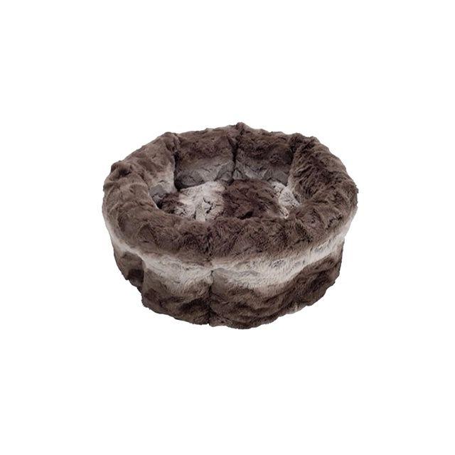 Rosewood Kattenmand Snuggle Grijs & Creme - 38 cm