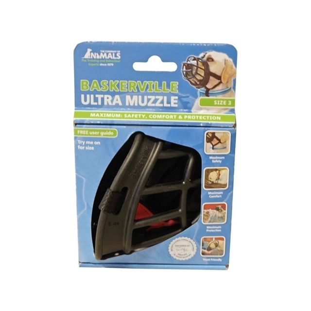 Baskerville Ultra Muzzle Muilkorf Nr 3