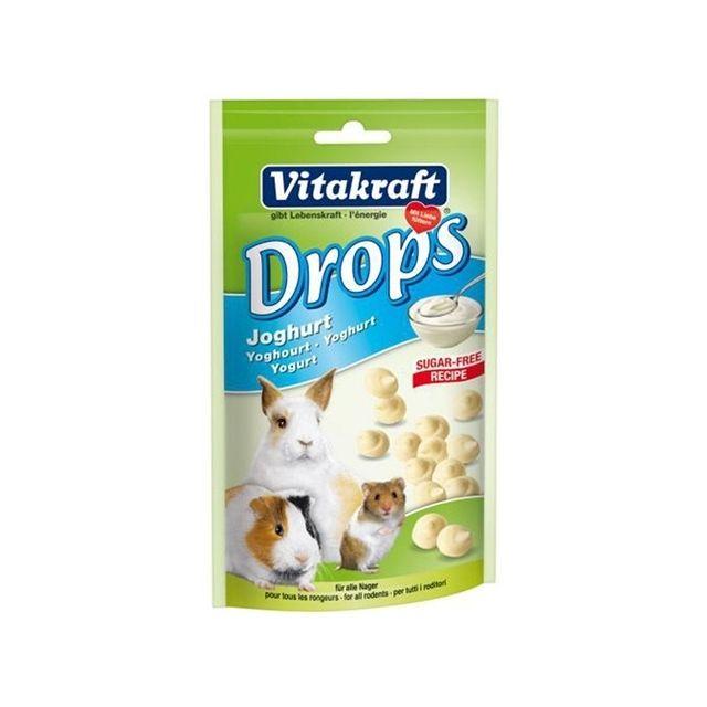 Vitakraft Konijn Yogurtdrops - 75 gr