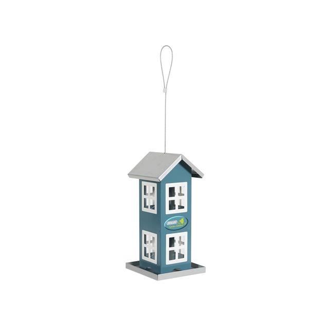 zolux voersilo huis 8 ramen blauw 12,5X12,5X48 CM