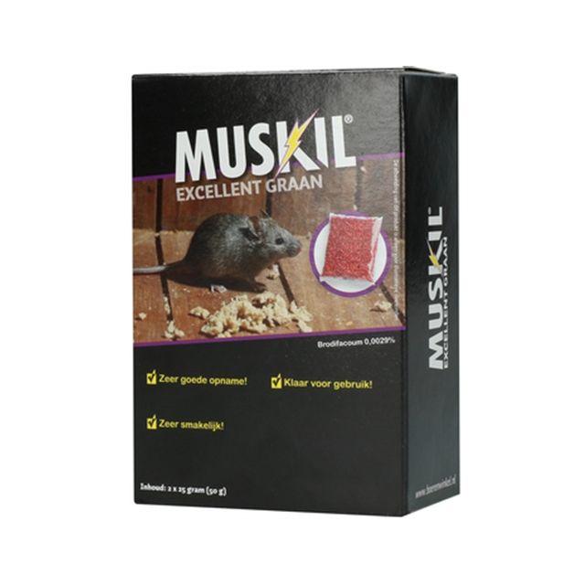 muskil excellent graan muis 2X25 GR
