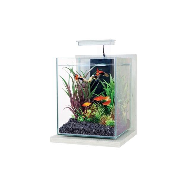 Zolux Aquarium Kit Jalaya Antique Wit -22x23x34,5 cm / 9,3 ltr