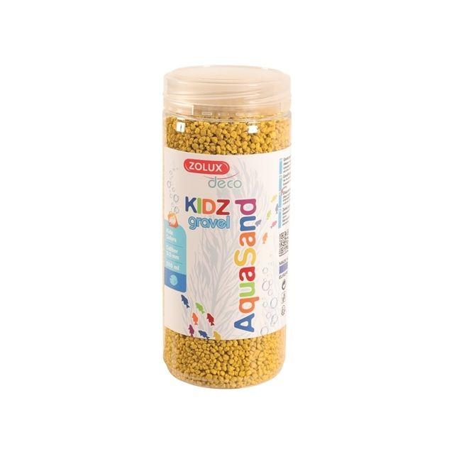 Zolux Aquasand Kidz Gravel Grind Geel -500 ml