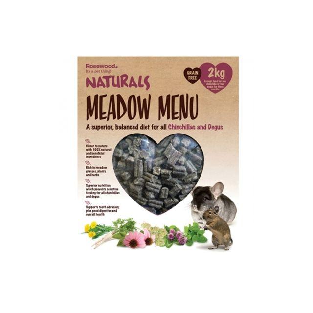 Rosewood Naturals Meadow Menu Chinchilla / Degu- 2 kg