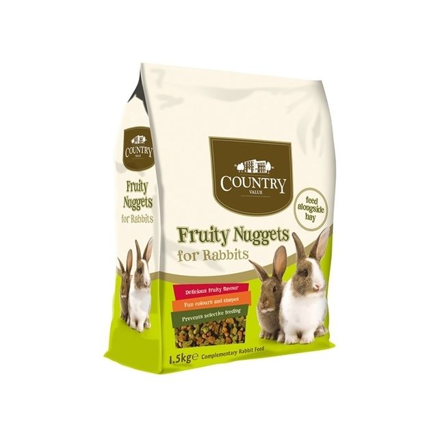 Burgess Country Value Fruity Nuggets Rabbit - 1,5 kg