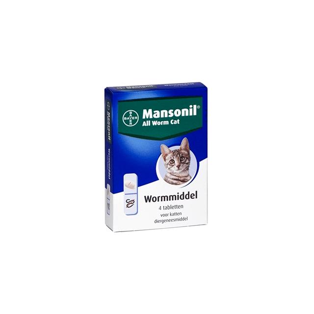 Mansonil All Worm Cat - 4 Tabletten