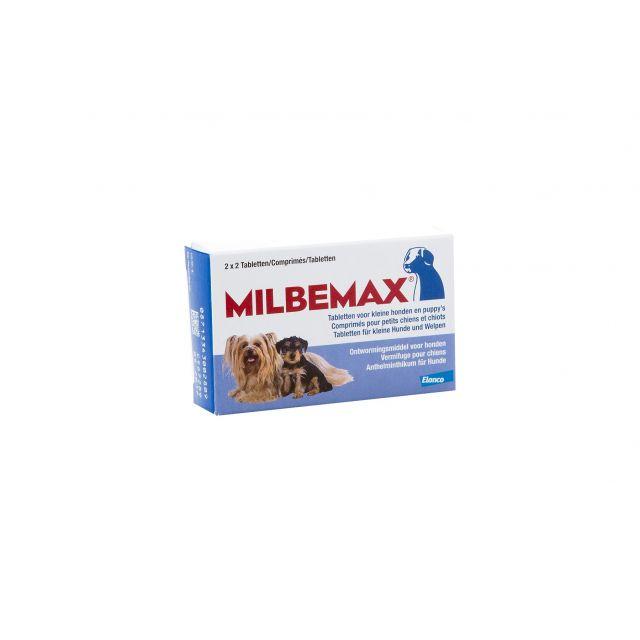 Milbemax Kleine Hond tot 5 kg - 4 stuks