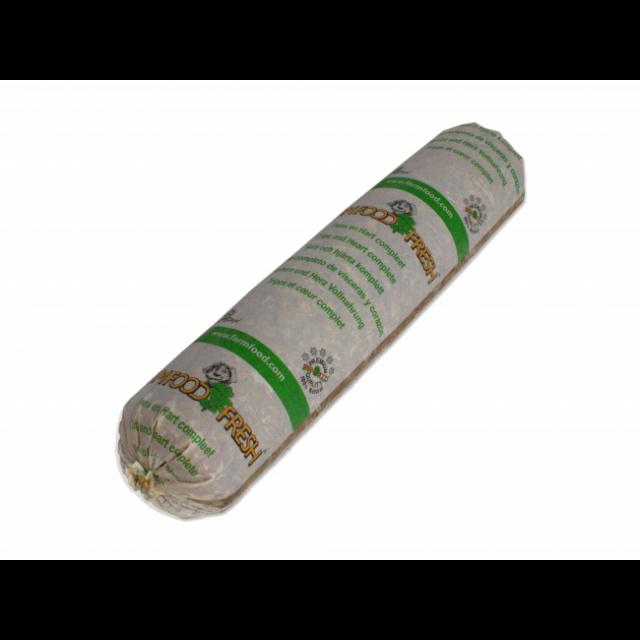 Farm Food Fresh compleet Worst Pens & hart -250 gram