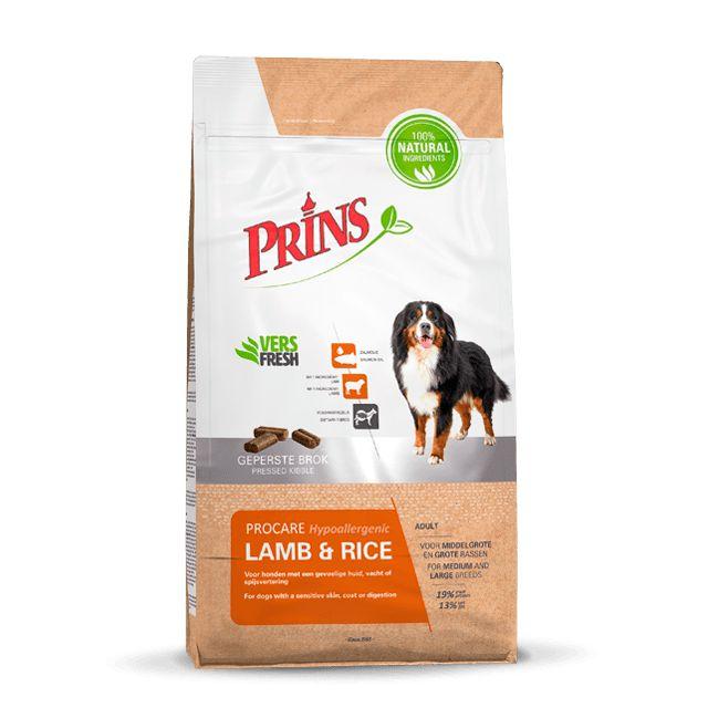 Prins Procare Lamb & Rice Hypoallergic - 20 kg