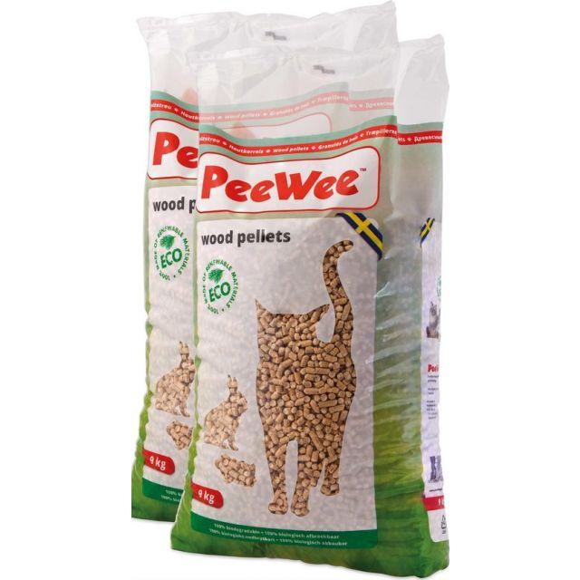 PeeWee Houtkorrel -3 x 9 kg