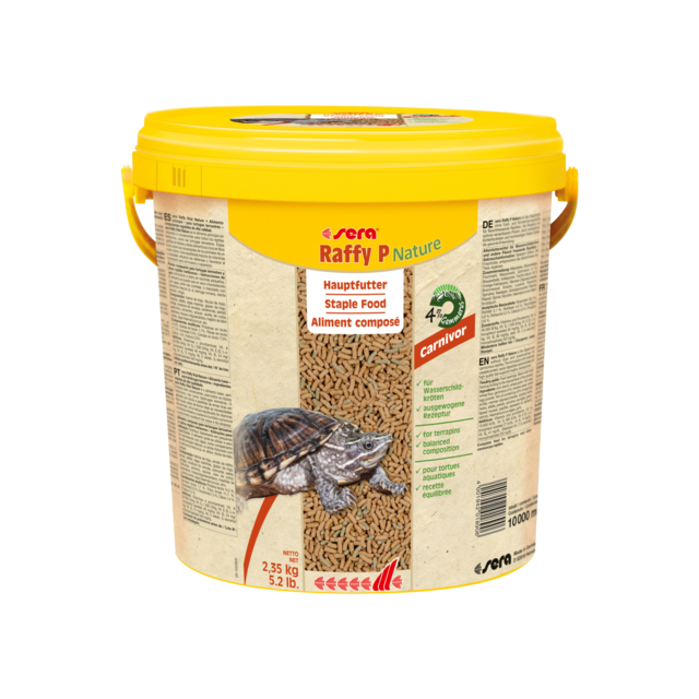 Sera Raffy P  Hoofdvoer voor Waterschildpadden- 10 liter